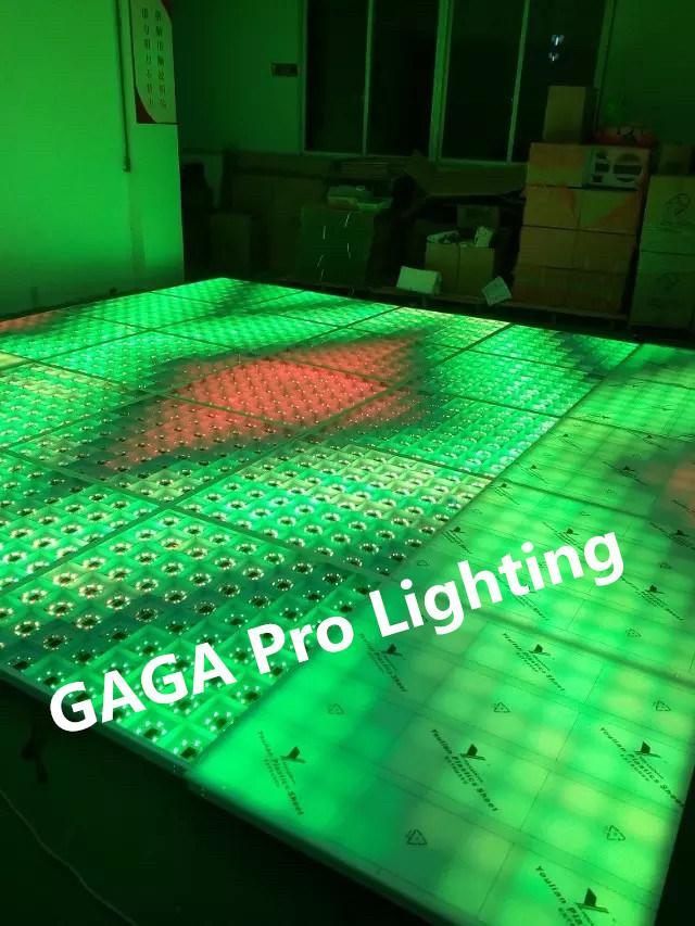 China Portable 1m1m Cheaper Led Dance Floor Tiles For Disco Light