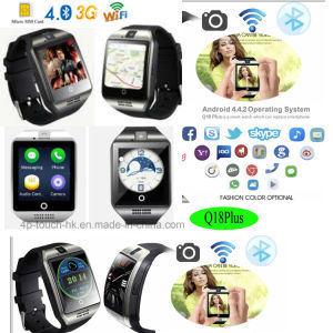 China 3G/WiFi Download Apps Waterproof Smart Watch Q18 PLUS
