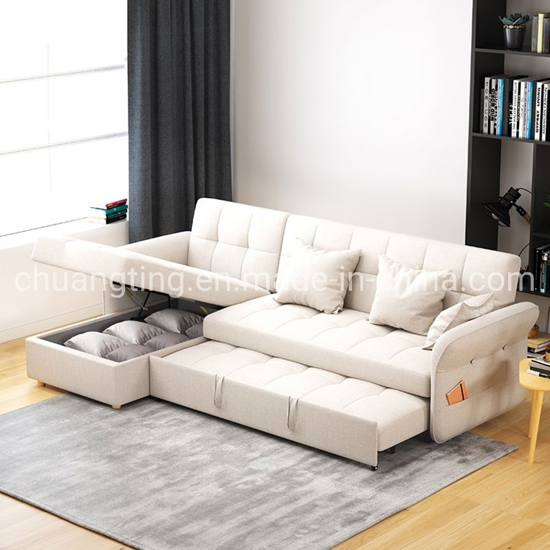 China Modern Design Fabric Sofa Bed, Sofa Bed Modern Design