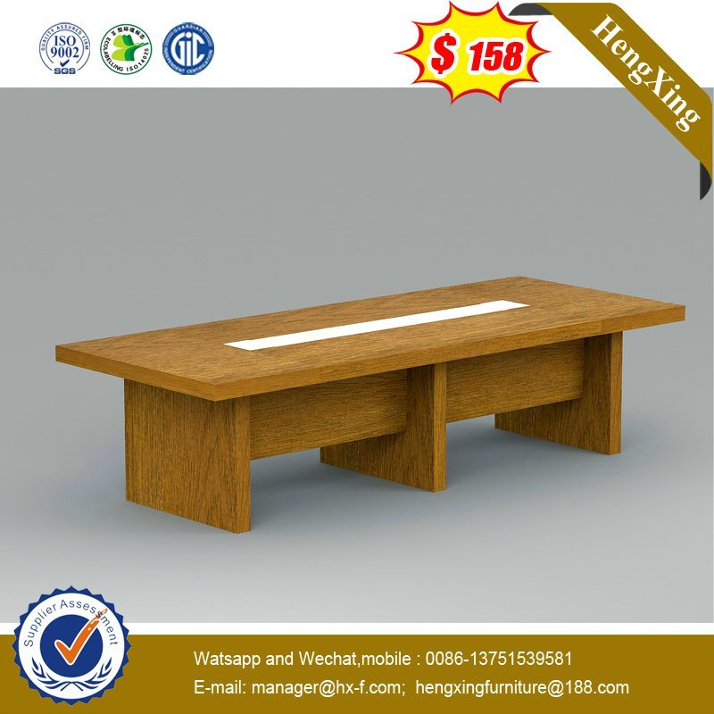 6 People School Office Meeting Training Room Modern Wooden Conference Table pictures & photos