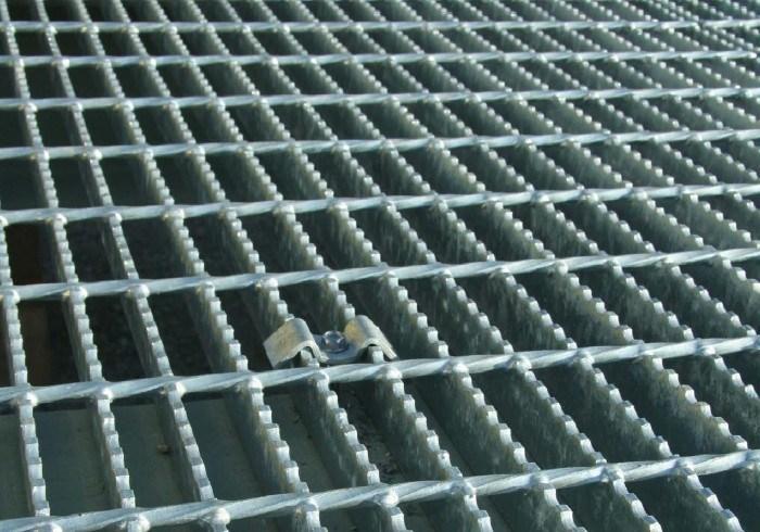 China Galvanized Open Metal Floor