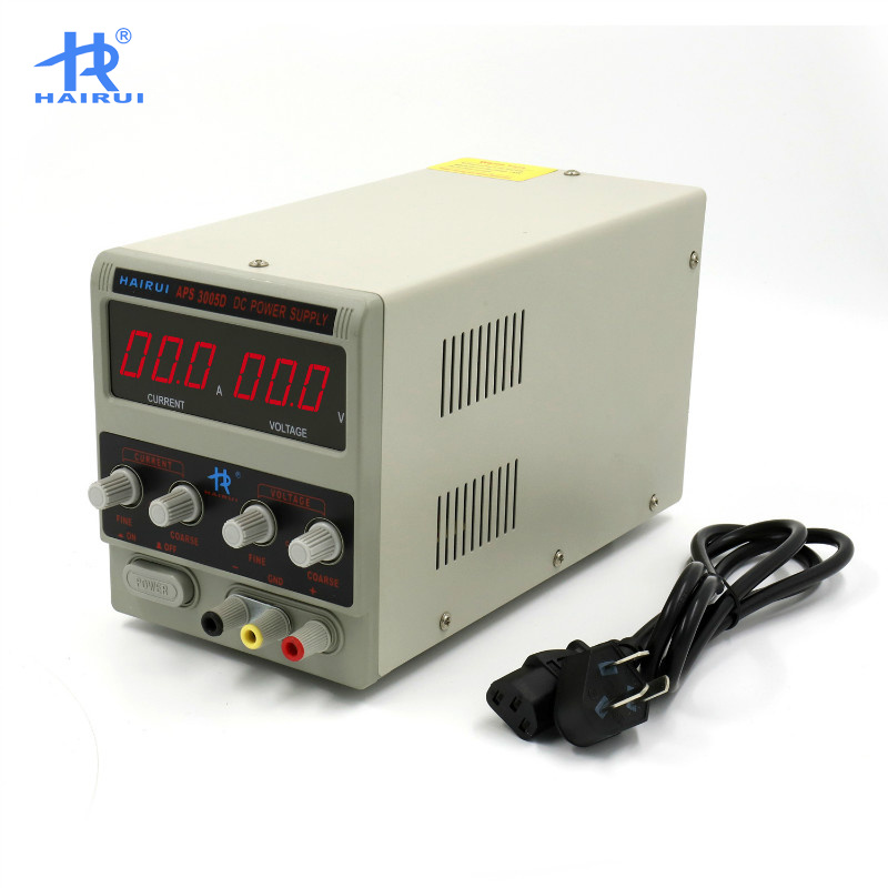 Digital Adjustable DC Power Source pictures & photos