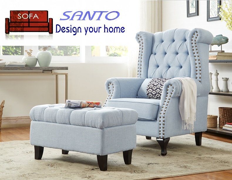 [Hot Item] Luxury Classic European Lounge Leather Living Room Furniture  Round Sofa Chair Sets