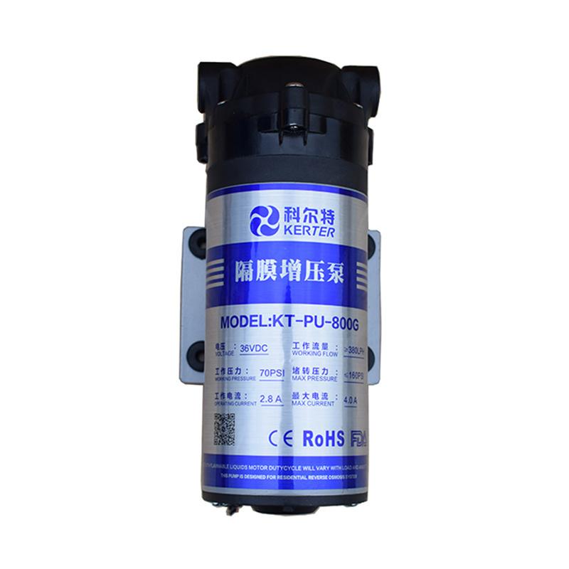 [Hot Item] 800gpd 36V 6 33lpm Diaphragm Pump for Freeflow RO Water System