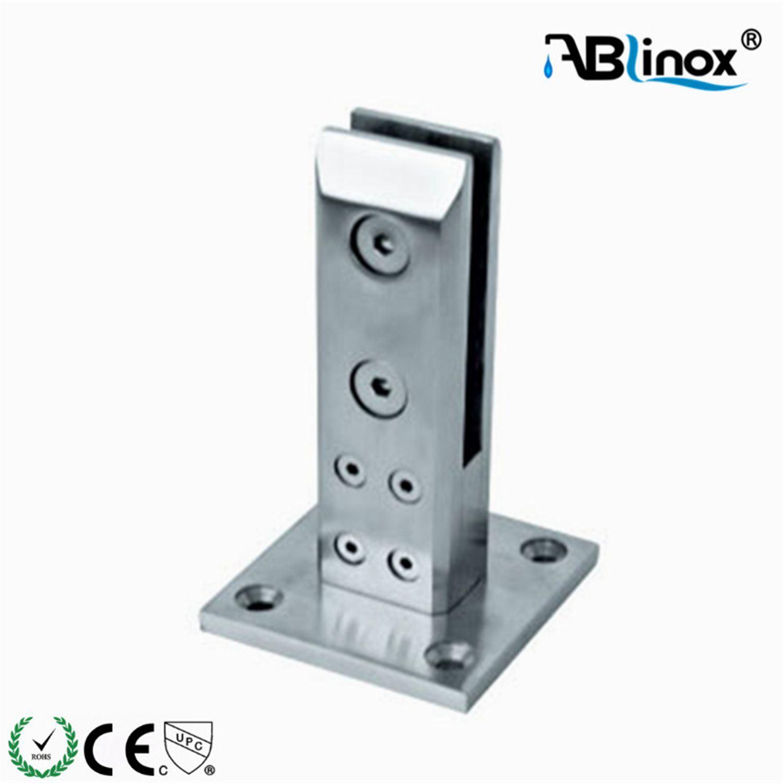 Hot Item Glass Panel Holder Cabinet Shelf Bracket Glass Clamp From Abl Hardware