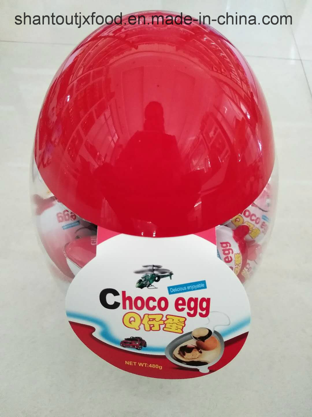 Small Chocolate Toy Egg 8 G pictures & photos