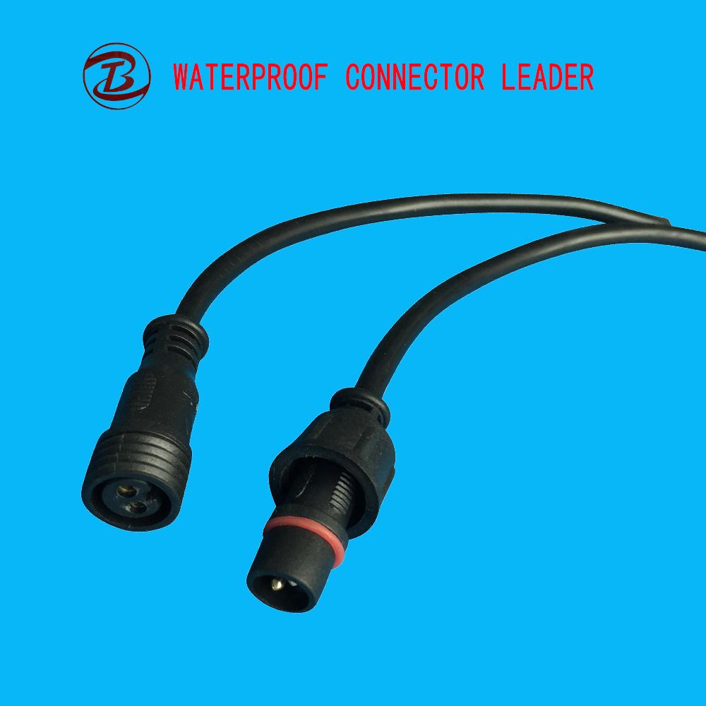 China Wire Length 40cm LED 2 Pin 3 Pin Waterproof Plug Photos ...
