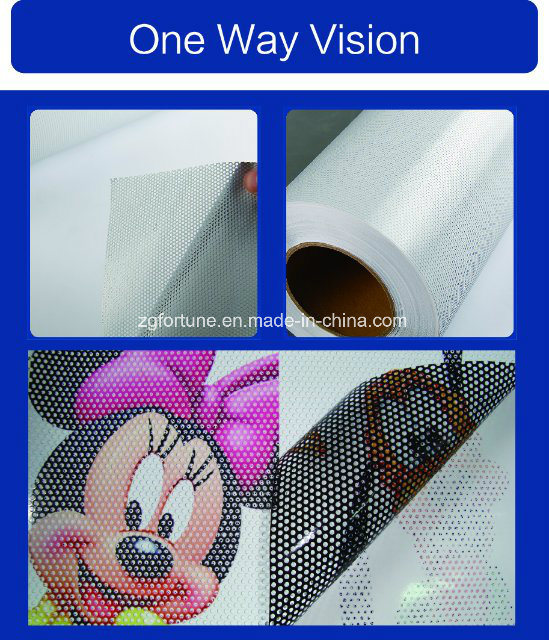 Glass Sticker One Way Vision, See Through Vinyl pictures & photos
