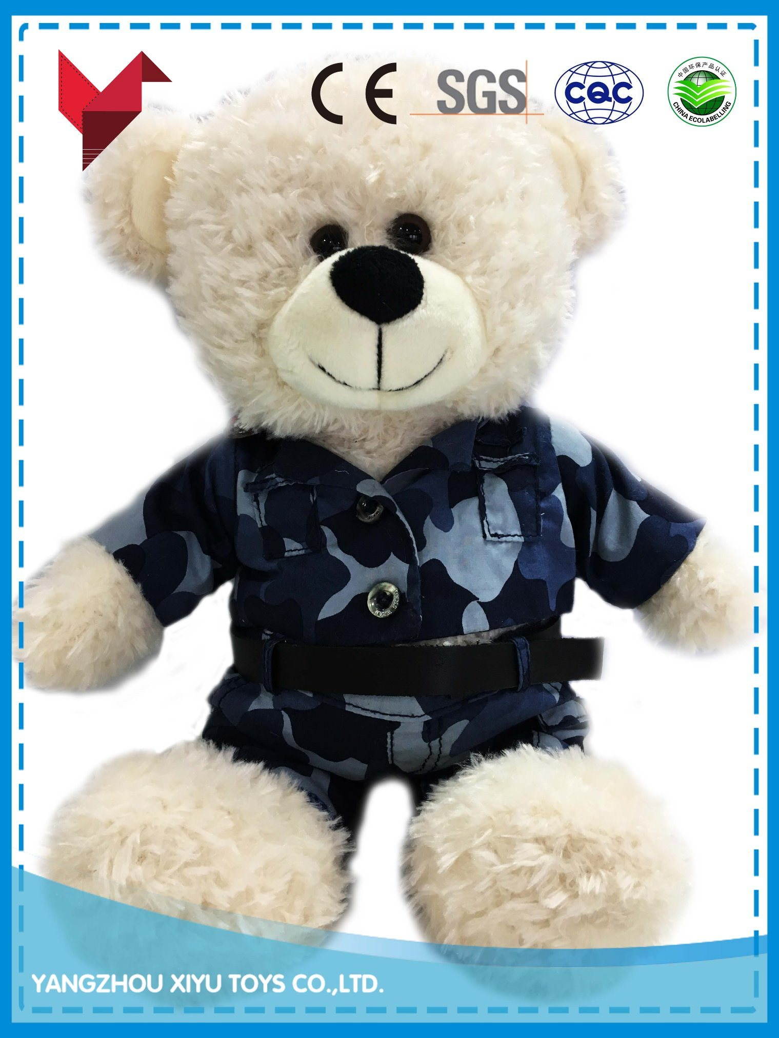 Best Selling Baby Toy Teddy Bear with Clothes pictures & photos