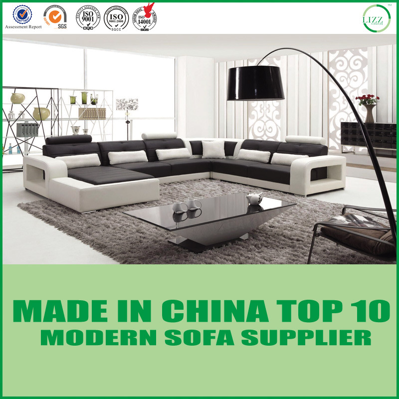 [Hot Item] Modern Furniture Wooden Leisure Corner Sofa Set