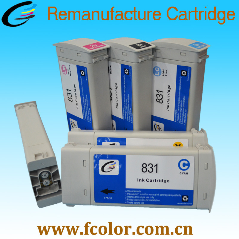 831 Reborn Ink Cartridge 775ml for HP Latex Ink Cartridge 370 360 330 310 300 pictures & photos