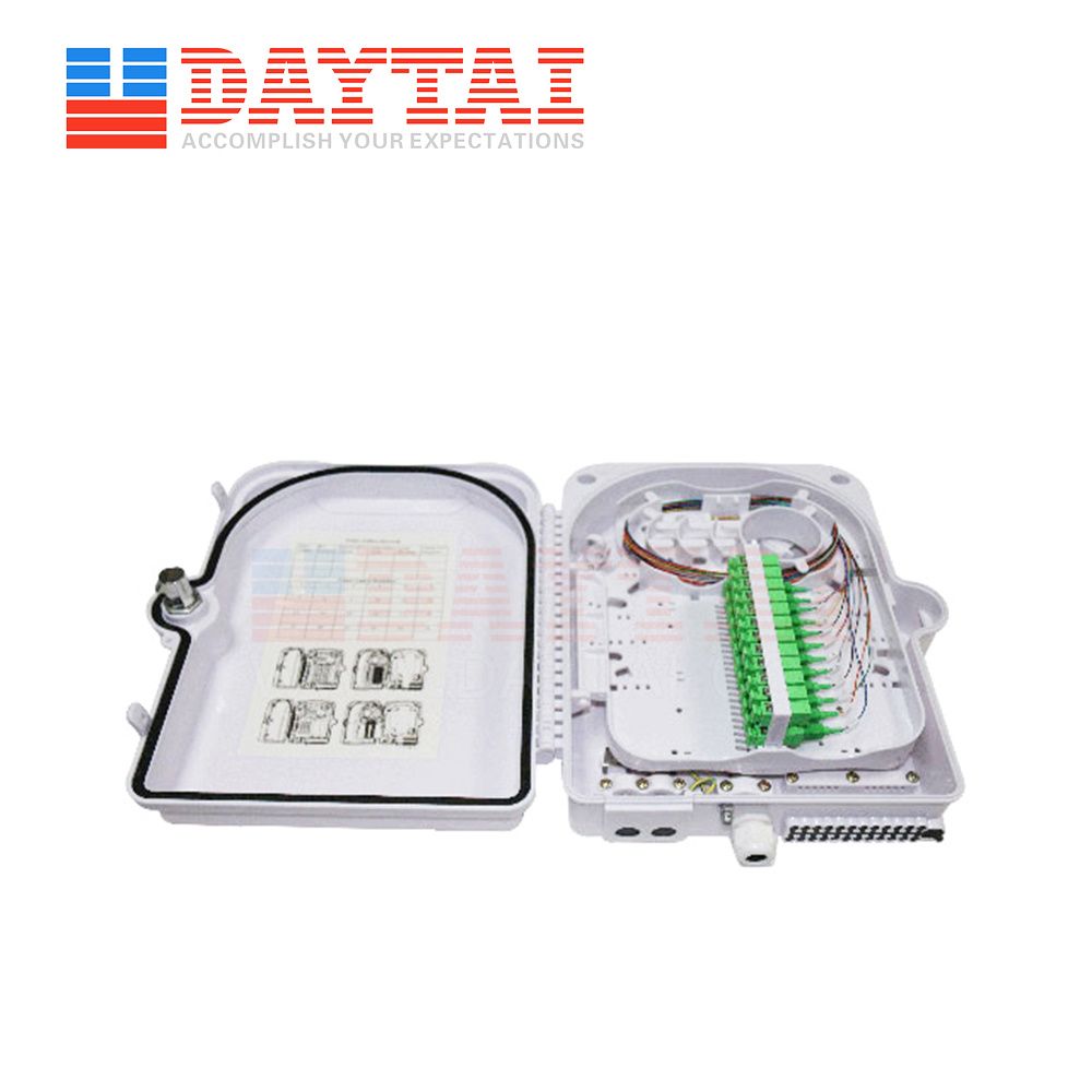 [Hot Item] outdoor 24 Core No-Cutting Fiber Optic Cable Connect  Distribution Box