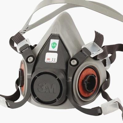 3m half mask reusable respirator