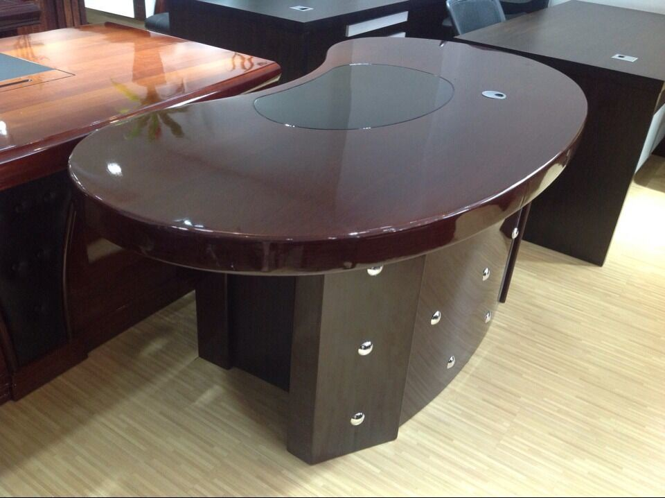 Charmant Half Round Executive Table, Manager Office Table, Office Furniture