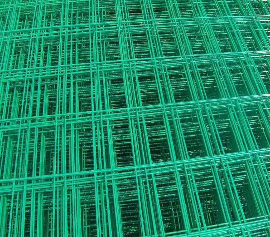 China PVC Plastic Coated Welded Wire Mesh for Making Crab Trap ...