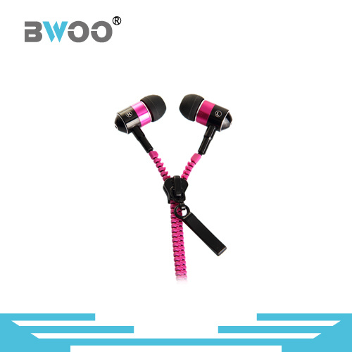Stereo in-Ear Zipper Earphone MP3 Earphone pictures & photos
