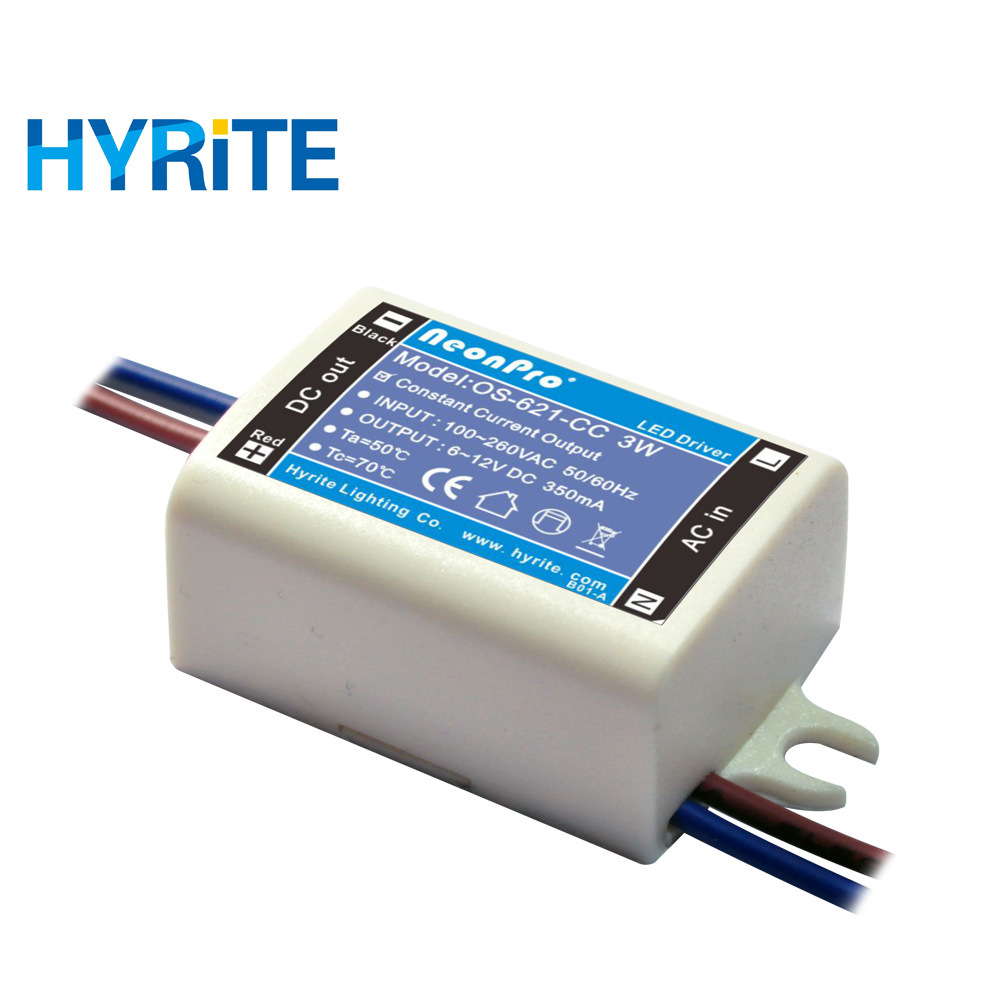 Power Emergency 350ma Led Driver Circuit 40w For Industrial Lighting