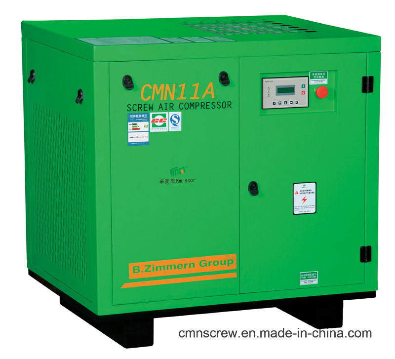 High Quality Oil Iubricated Screw Air Compressor From China (CMN11A)