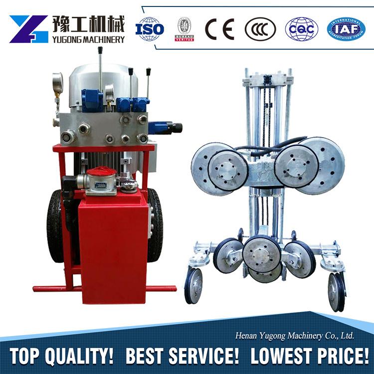 China Hydraulic Diamond Wire Saw Granite for Quarry Wire Saw Machine ...