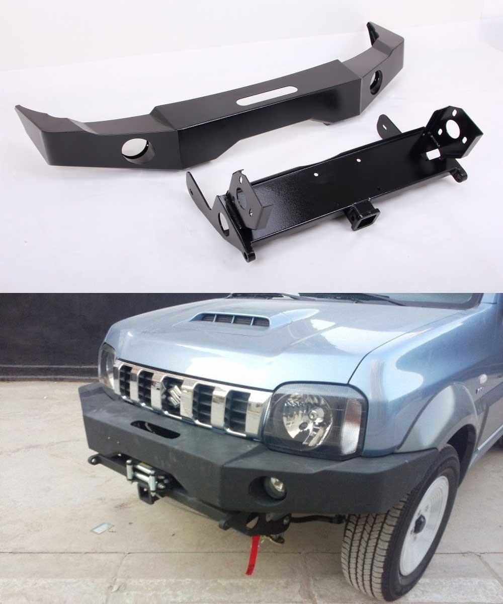 China Suzuki Jimn Steel Front Bumper With Sheet Iron Winch