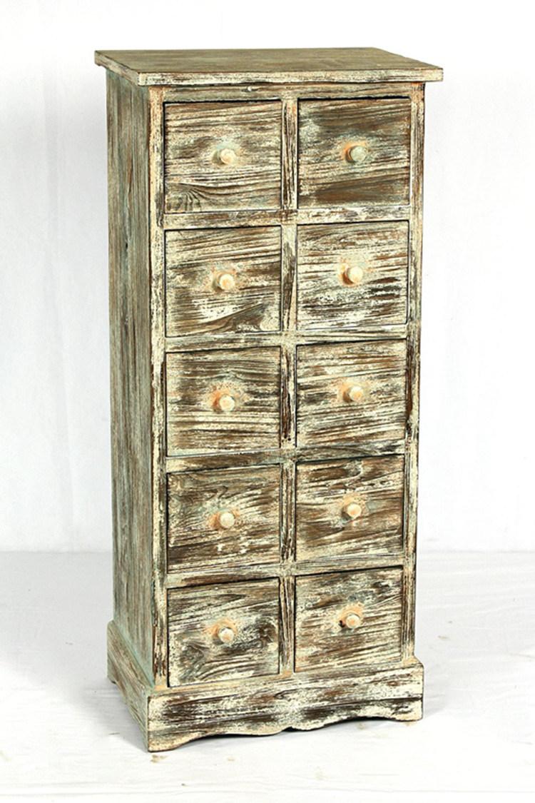 [Hot Item] Antique Wood Floor Cabinet Store Display Retro Kitchen Cabinets