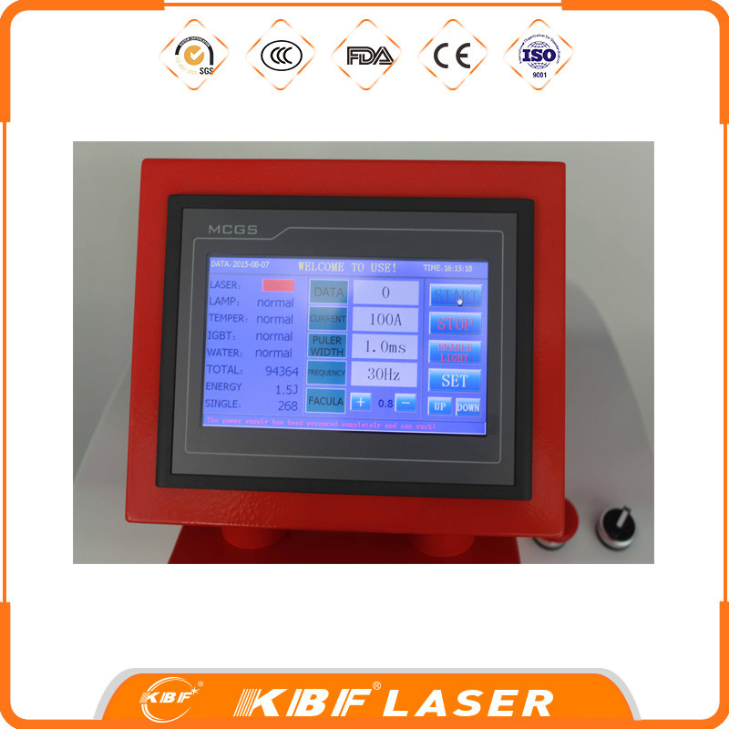 Gold Siliver Copper Vibration Standing Jewelry Laser Welder Machine