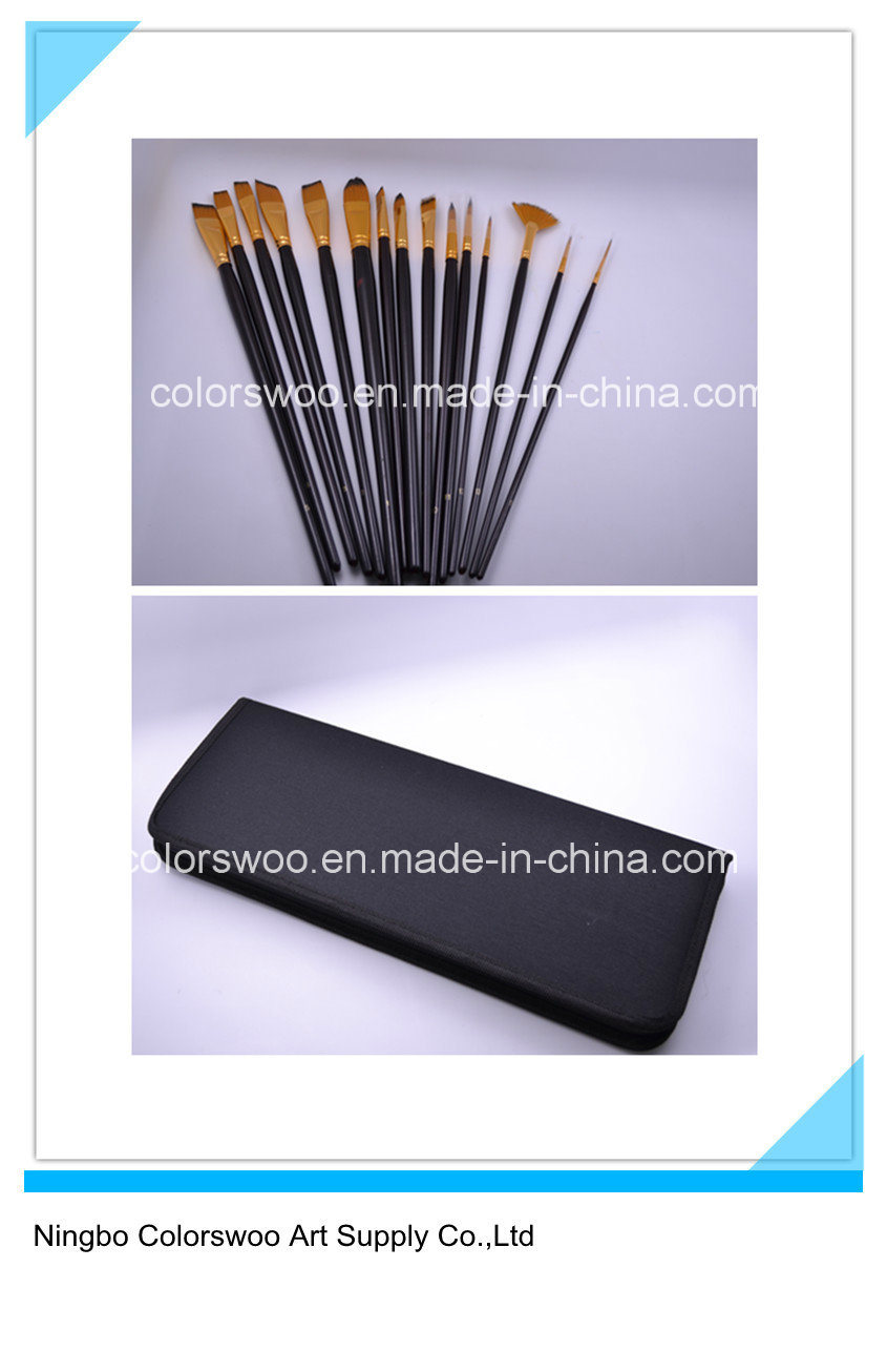 15PCS Artist Brush for Painting and Drawing