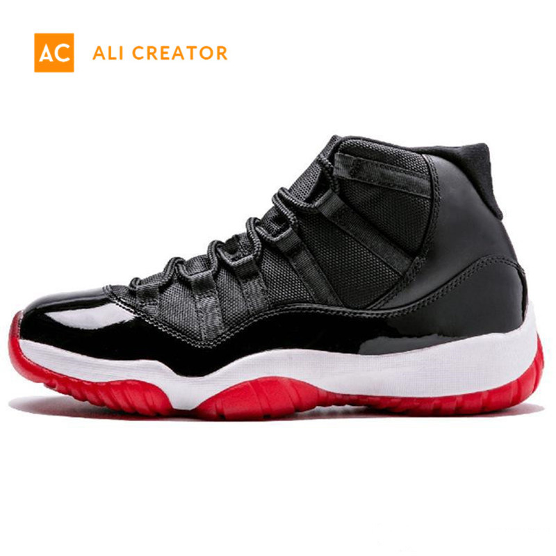 128ee6ad762f Concord High 45 11 Xi 11s Cap and Gown Prm Heiress Gym Red Chicago Platinum  Tint Space Jams Men Basketball Shoes Sports Sneakers