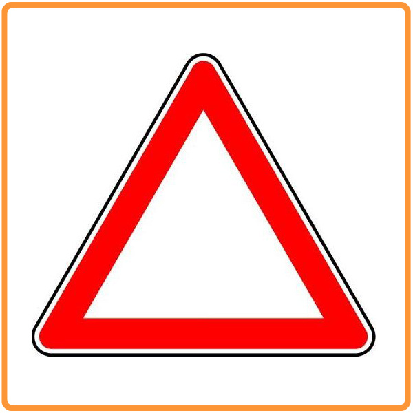 Triangle Road Signs >> China Safety Warning Traffic Sign Triangle Aluminum Plate Traffic