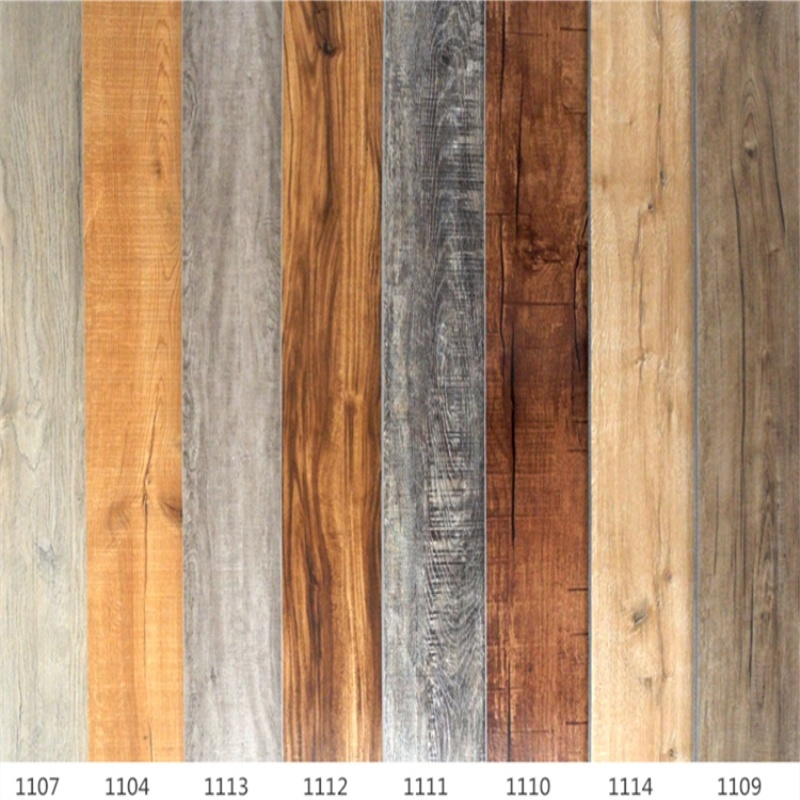 China 4 0mm Commercial Wood Grain Pvc Plank Loose Lay Vinyl Floor Flooring Plastic