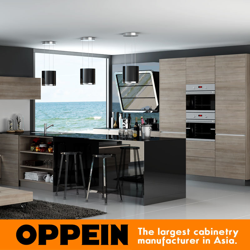 New China Kitchen 2: China Modern New Design Melamine Lacquer Wooden Open
