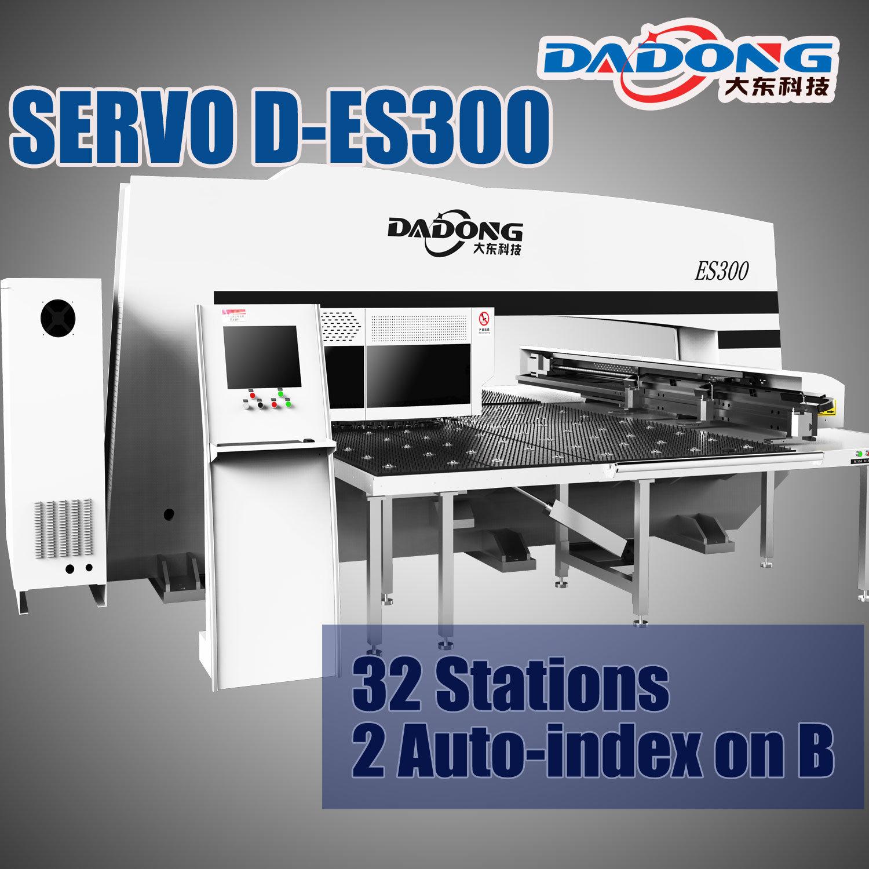 [Hot Item] Fanuc System Servo Drive CNC Turret Punch Press/Punching Machine  D-Es300