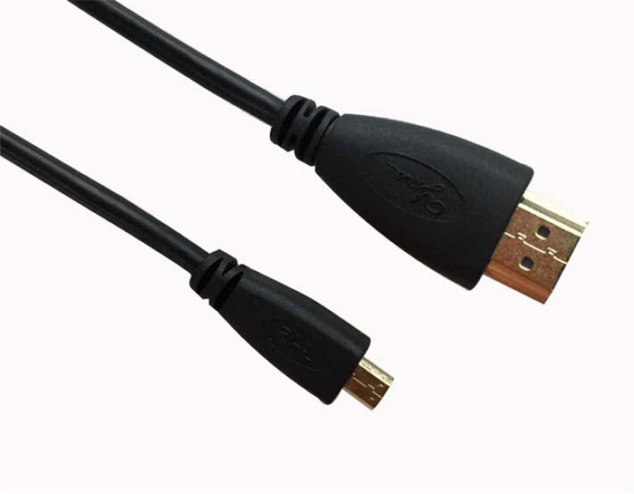 1.5m Copper Clad Steel Coaxial Micro HDMI to HDMI Cable pictures & photos