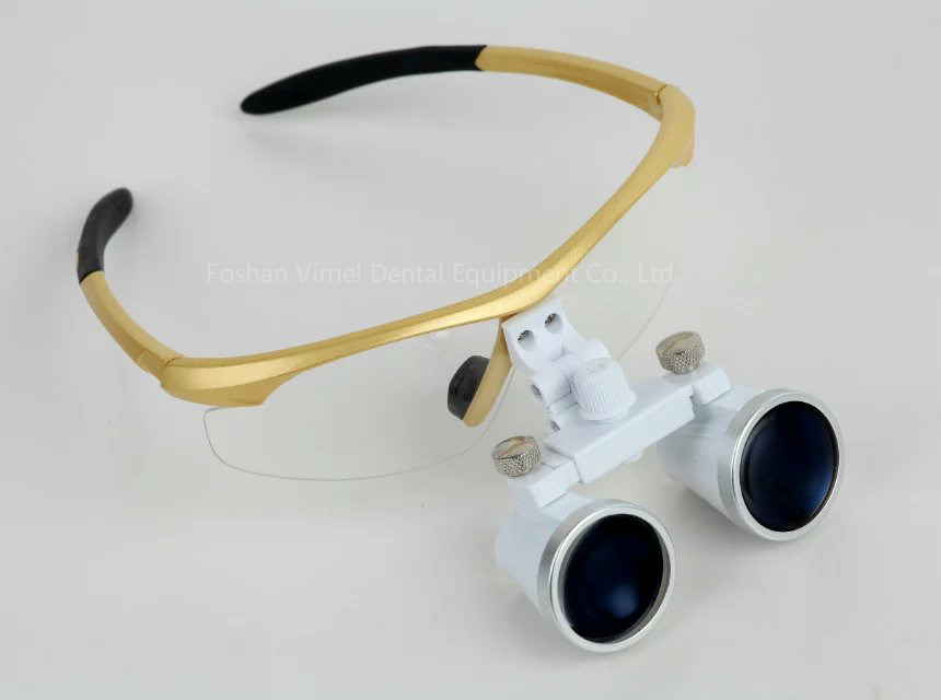 High Quality 2.5X / 3.5X Colorful Dental Loupes with Head Light