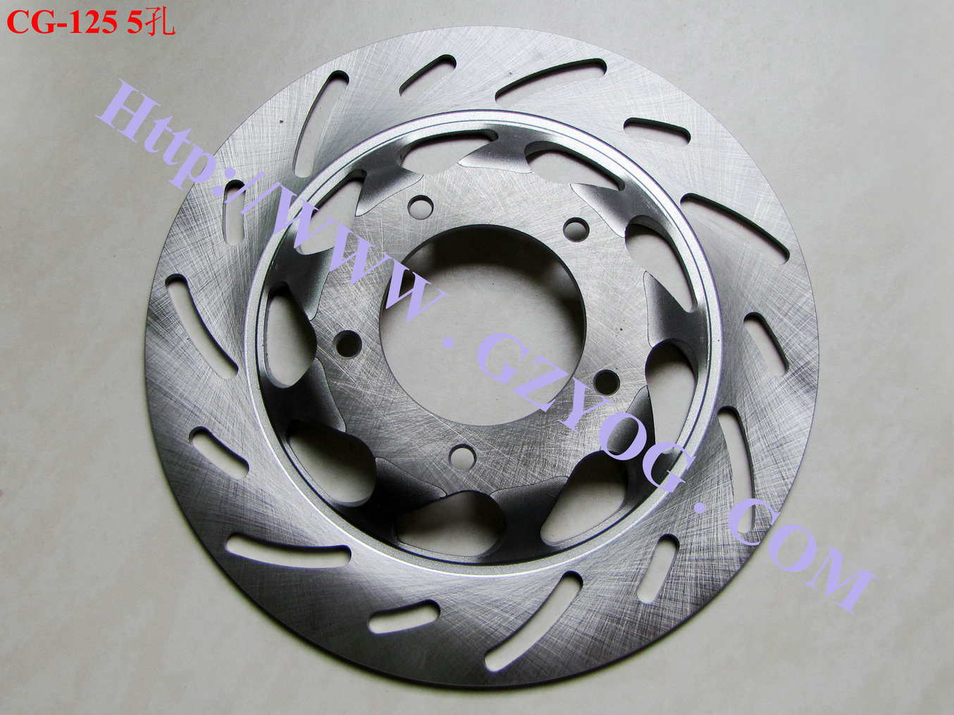 Yog Motorcycle Spare Parts Brake Disc Plate Honda YAMAHA Suzuki Bajaj Tvs Keeway Shineray Biz Italika off Road Akt Qingqi Xy Haojin Pad pictures & photos