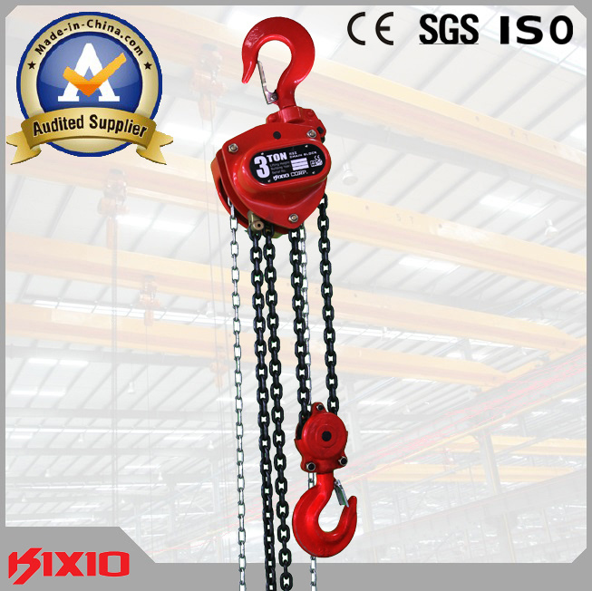 3 Ton Manual Lifting Hoist Lever Block with Pulley