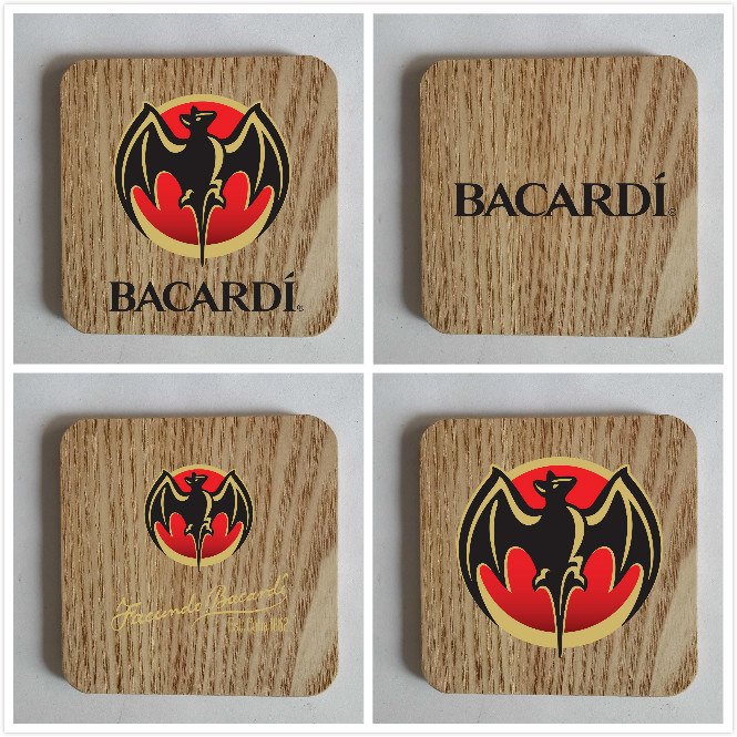 Nature Wooden Coaster with High Quality
