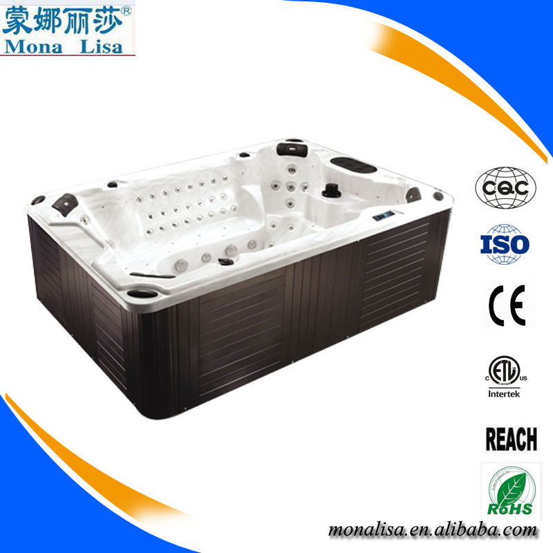 China Hot Tub Whirlpool SPA Bathtub with TV, DVD, Cover, Step (M ...