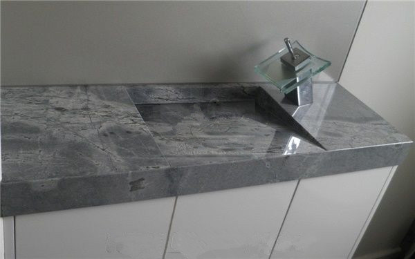 Sky Blue Marble Countertop