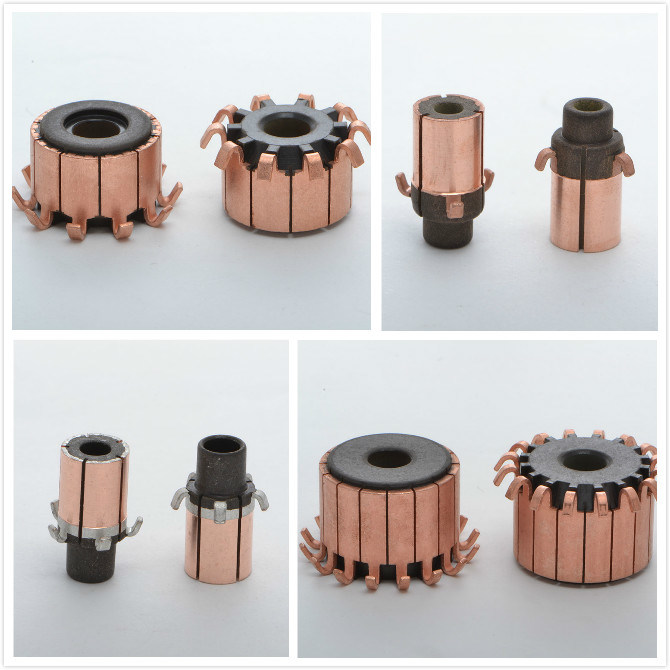 High Quality Micro Motor Parts Hook Commutator pictures & photos
