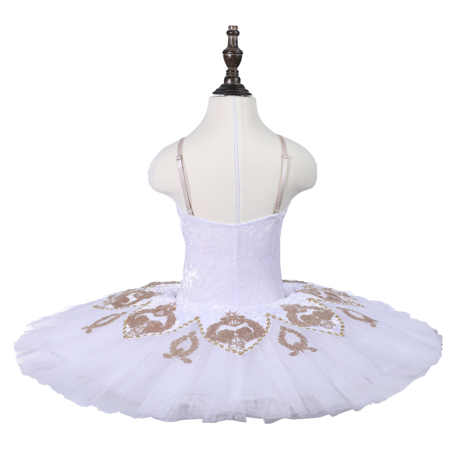2801d417bc8b Professional Children Kids Performance Wear 7 Layers White Swan Lake Ballet  Tutu