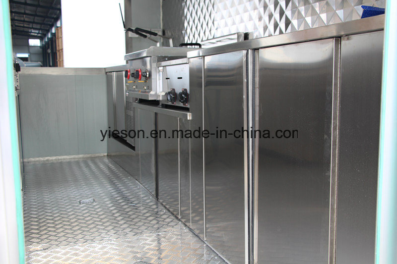 Snack Machines Catering Trailer Mobile Fast Food Trucks for Sale