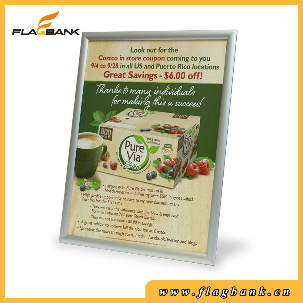 China Aluminum Display Frames for Posters with Mitred Corner Online ...