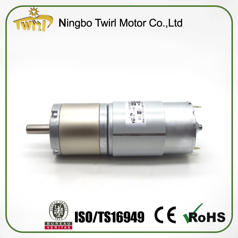 OEM Commutator in China DC Motor with Gearbox 24V
