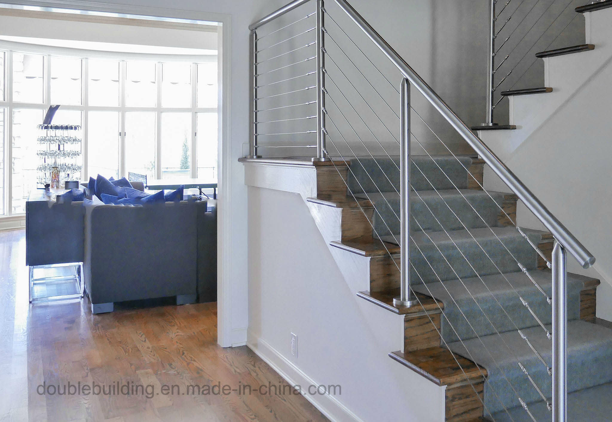China Porch Stainless Steel Wire Cable Railing - China Porch ...