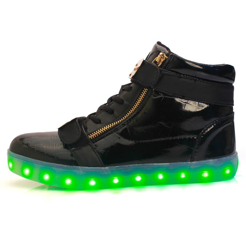 50% price 100% high quality website for discount [Hot Item] Factory Wholesale Mens Shoes 2017 Classic LED Shoes Men