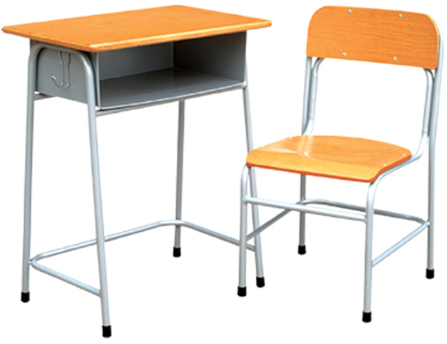 China Junior Student Table with Chair, Cheap School Desk