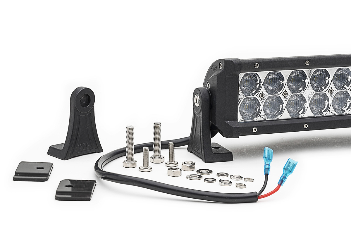 China 24inch 120W 12V LED Light Bar Spot Work Lights 4WD Ute Offroad ...