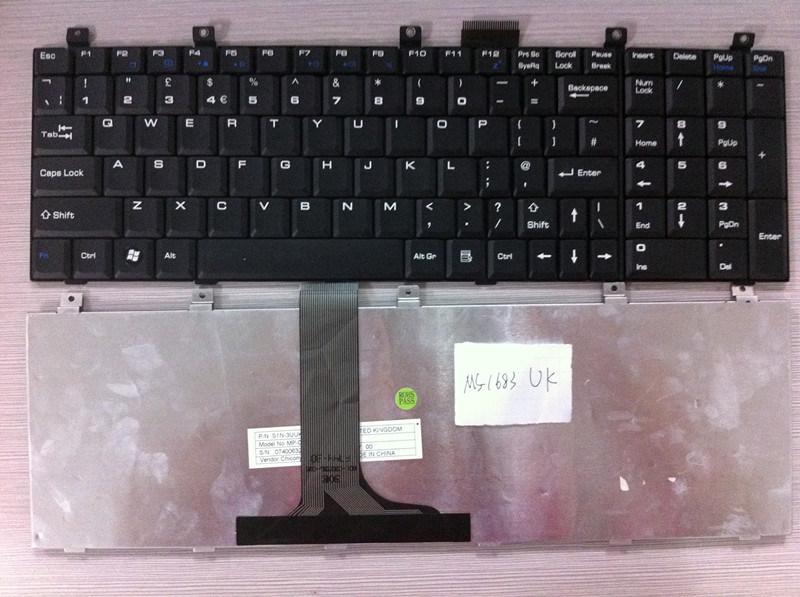 [Hot Item] Original Us UK Layout Laptop Keyboard for Msi MS-1638