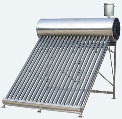 Full Stainless Steel Unpressurized Solar Water Heater with Coc Certicicate